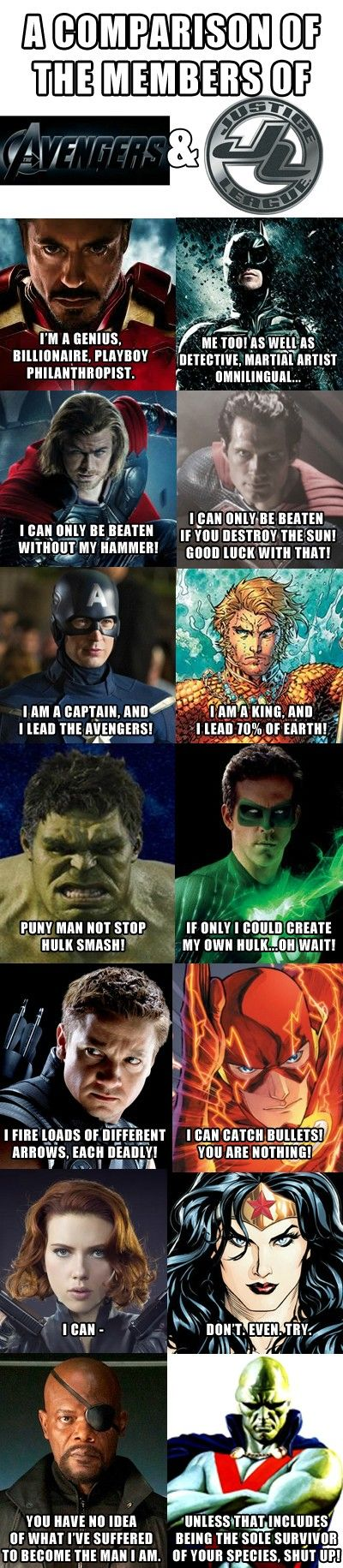 Marvel Gets Slaughtered in this Avengers vs Justice League Comparison http://geekxgirls.com/article.php?ID=5168