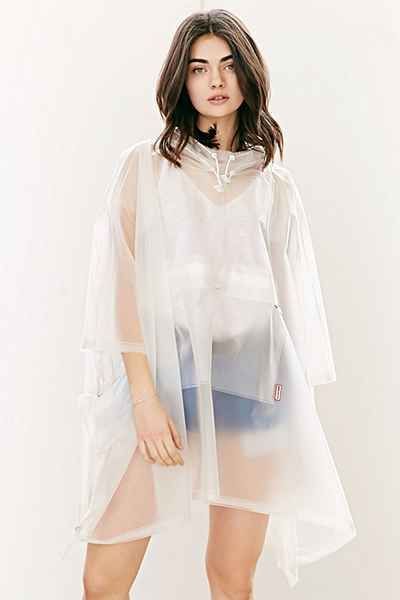 Hunter Clear Poncho, $195 USD from Urban Outfitters