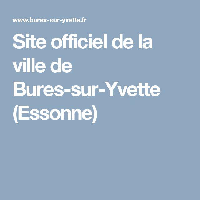 Site officiel de la ville de Bures-sur-Yvette (Essonne)