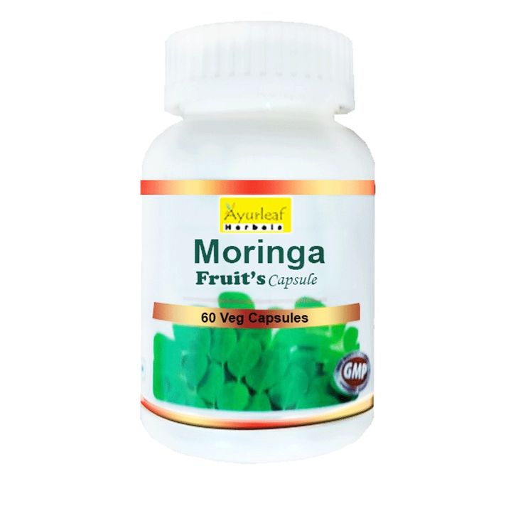Moringa Fruit are rich in antioxidants.Moringa leaves and pods are the most widely used parts of this plant. These leaves are edible. They contain three times more iron than spinach. If eaten raw, pods act as a de-wormer and treat liver and spleen problems and pains of the joints.  http://www.biobaxy.com/moringa-fruit-capsule.html
