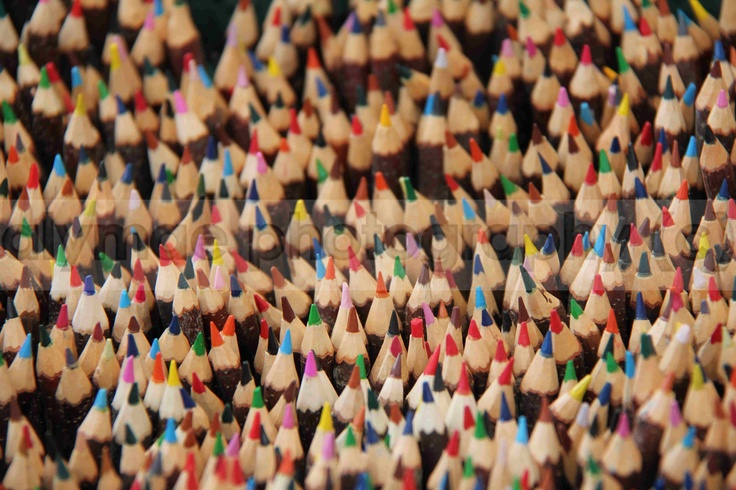 Pencils at the markets in Finland - just gorgeous :)