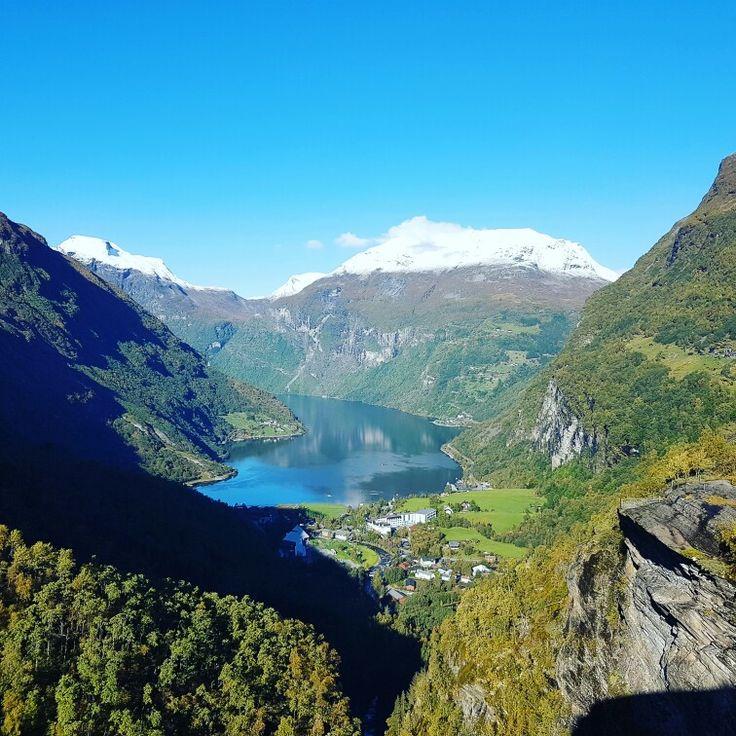 #Geiranger #Norway
