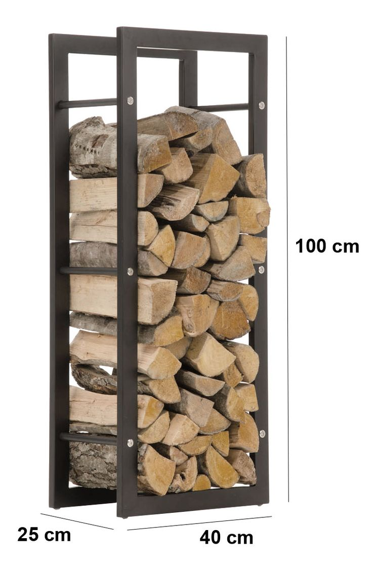 Firewood-Rack-KERI-Black-Log-Shelf-Basket-Stand-Holder-Metal-Wood-Fire-Storage