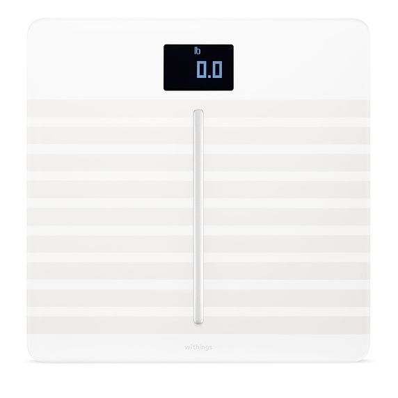 Withings Body Cardio Wi Fi Smart Scale White Withings Body Cardio Body Composition Smart Scale