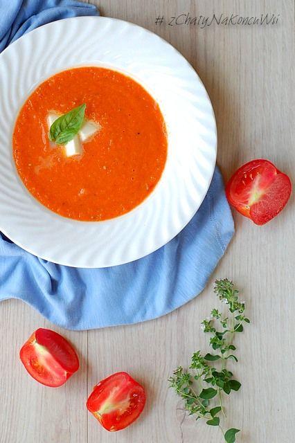 Zupa pomidorowa. Prawdziwa zupa pomidorowa. pomidorowa z pomidorów. Jak zrobić pomidorową.