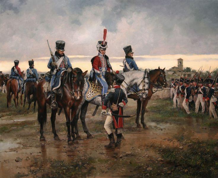 Recopilación de cuadros históricos del maestro Augusto Ferrer-Dalmau…
