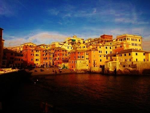 Boccadasse 10 minutes walk from Il Borgo di Genova bed and breakfast