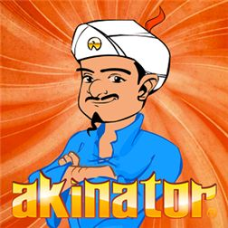 Akinator Akinator can read your mind and tell you what character you are thinking about, just by asking a few questions. Think of a real or fictional character and Akinator will try to guess who it is. Will you dare challenge the Genie?