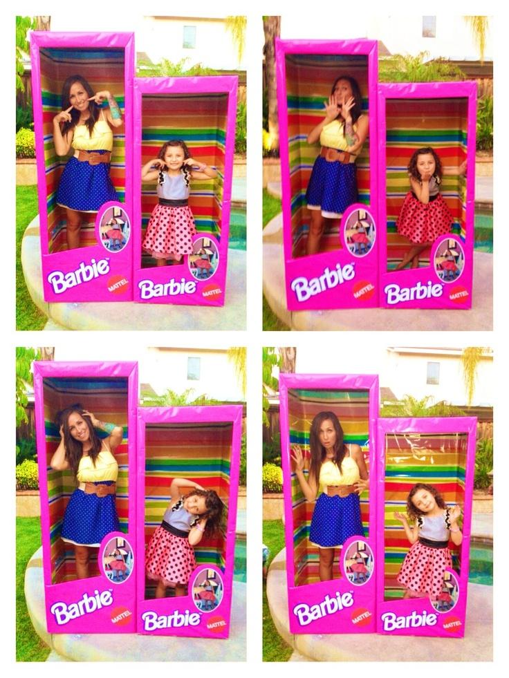 Barbie party. Barbie box.