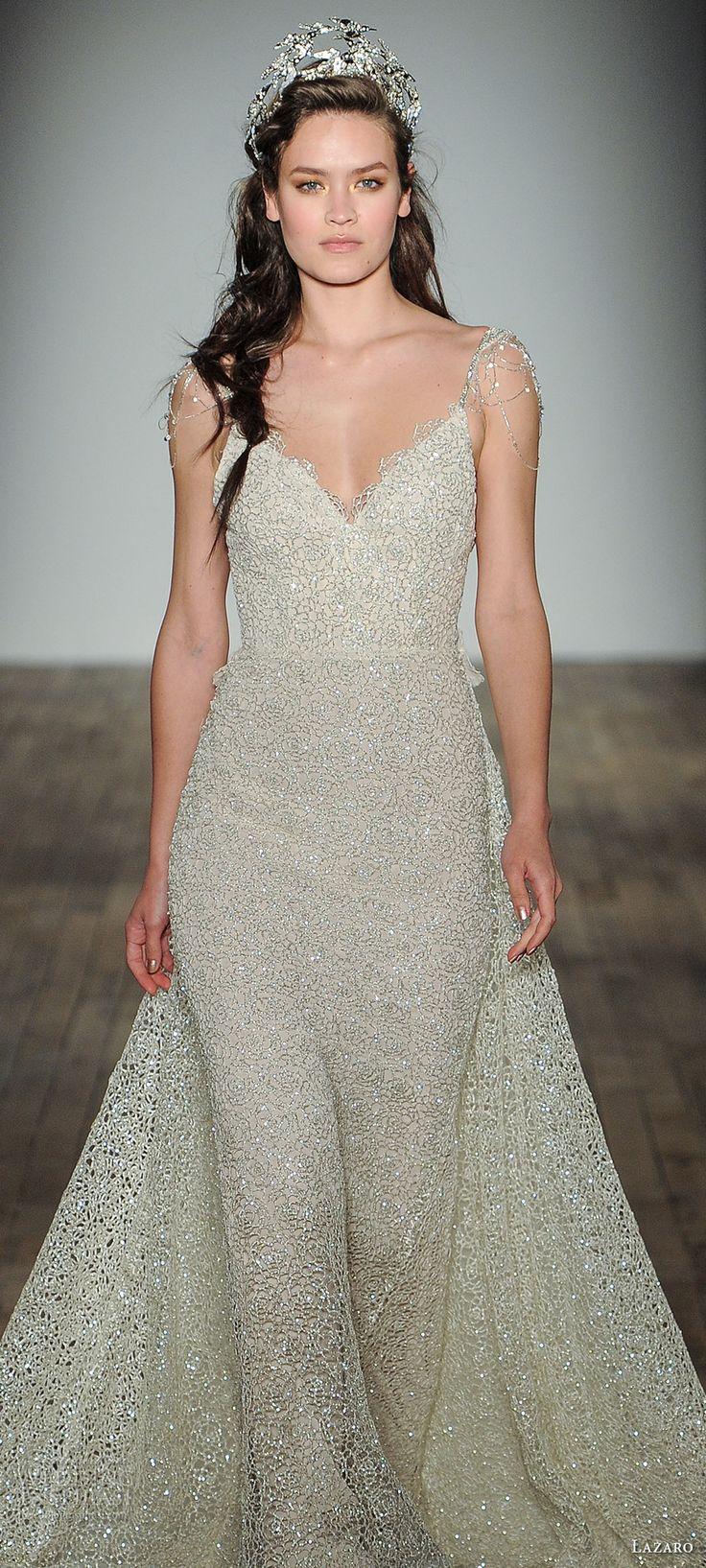10537 best bridal style images on pinterest for Lazaro a line wedding dress