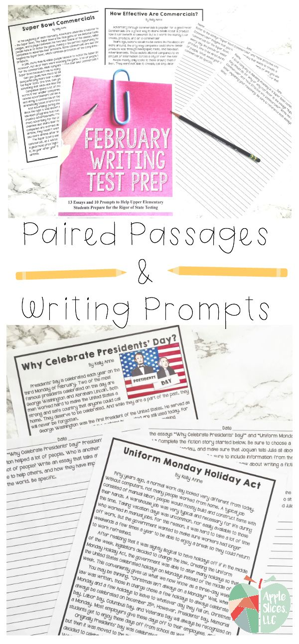 6th grade writing prompts with passages