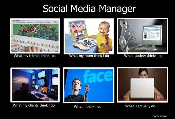 Facebook na śniadanie, obiad i kolację, czyli kilka słów o Social Media Manger ... ;)