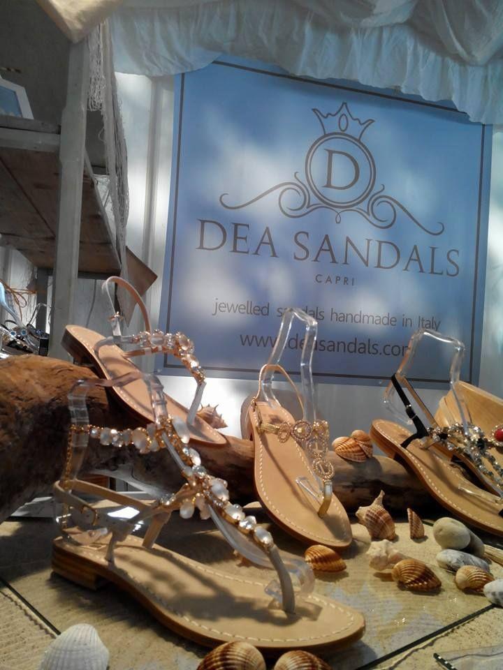Si riparte alla grande! Ringraziamo tutti i visitatori per i tantissimi complimenti ricevuti. Dea Sandals Capri www.deasandals.com  #fashioninflair #deasandals #sandaligioiello #sandalicapri