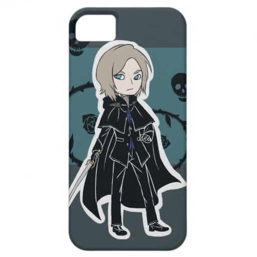 Boy with Cape and Sword iPhone 5 Cover
