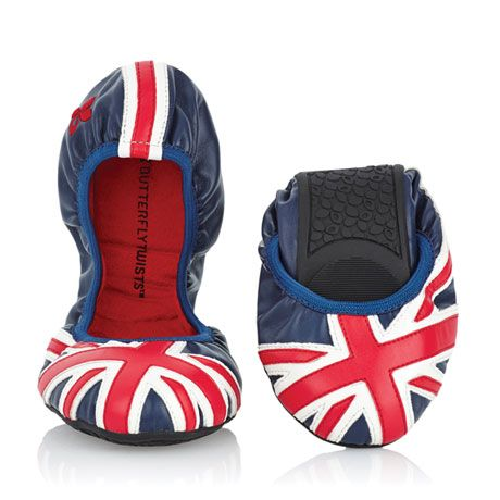 perfect travel shoes. Soft, Union Jack, faux leather with memory foam insoles, moisture-wicking linings, and skid-resistant soles. European sizes 36 (American 5), 37 (6), 38 (7), 39 (8), 40 (9), 41 (10). Half sizes, order down. |Signals Catalog