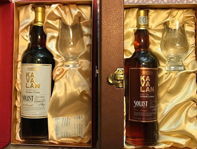 Look at this exhibit of fine art!! 📸 @rolexwhisky ・・・ @kavalanwhisky gift box sets are the best. Each #giftbox has a #Kavalan bottle and @theglencairnglass. They made them for the #sherrycask, the #bourbon, #brandy, vinho, and the #port cask. @kavalanusa fans if you get the chance definitely grab some. #whisky #singlemalt #giftset . . . #kavalanwhisky #art #love #gifts #lifestyle #influencer #thelibationsguild #whiskygram #pic #instawhisky #taiwan #whiskycollection #giftsforhim #lajolla…