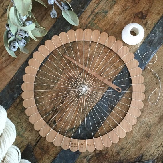 Are you ready for your next weaving challenge?  The Unusual Pear weaving looms are lightweight, durable and incredibly easy to use! They are