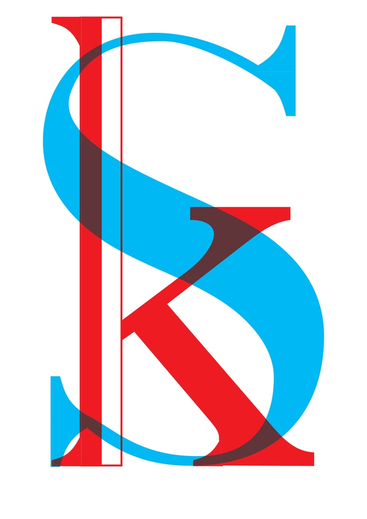 customised typeface called silent k
