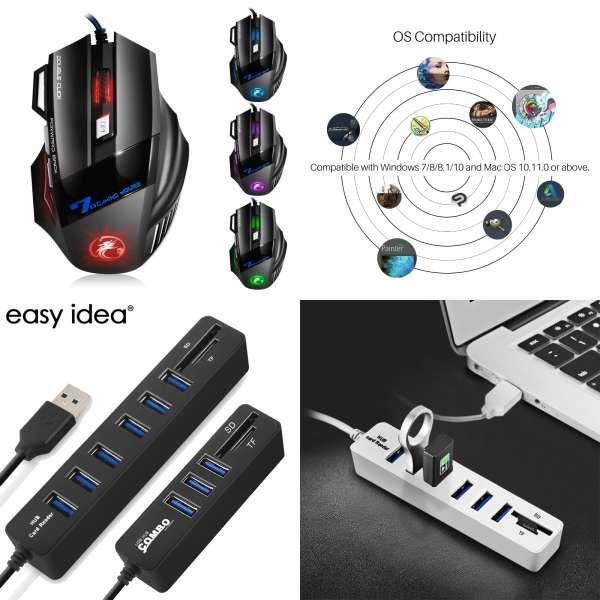 Reejoyan Rakoon Gaming Mouse Pad Locking Edge Anti-slip