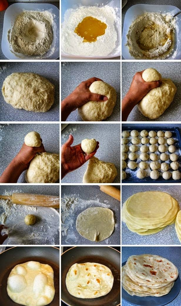 Domaće tortilje iz tiganja ~ Recepti i Ideje