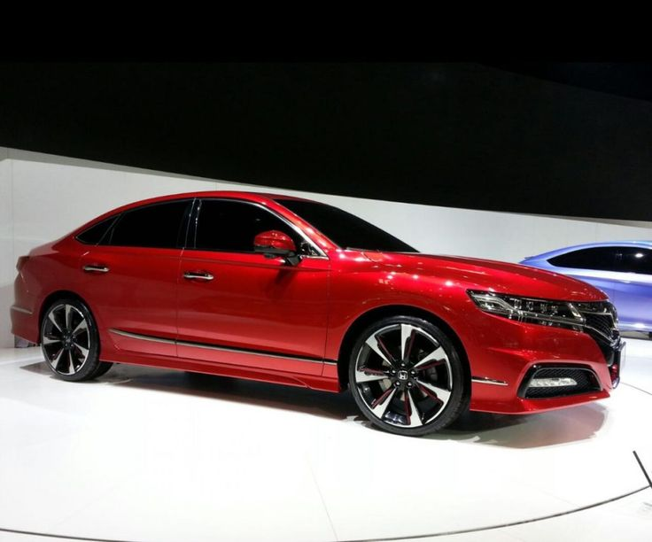 Sideview 2017 Honda Accord Price