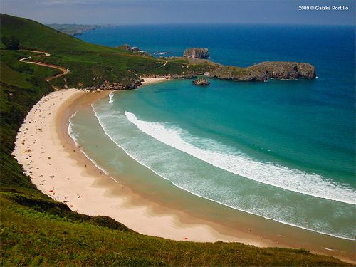 Playa de Torimbia #Llanes #Asturias