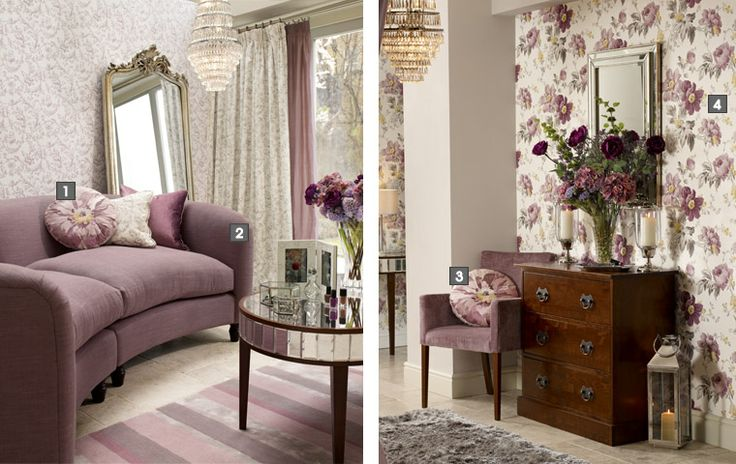 Digging The Purple Foyer Laura Ashley Usa Dream Home Pinterest Laura Ashley Peony And