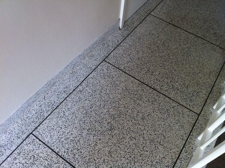 Terrazzo floor restoration polishing sealing Hove, East Sussex