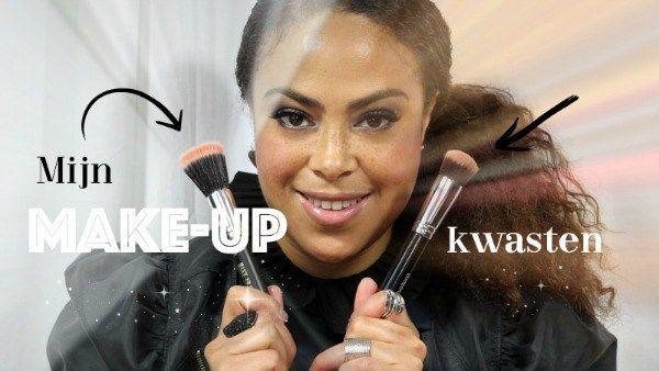 Op verzoek maakte ik een vlog over de make-up kwasten die ik voor mijn gezicht gebruik. Het zijn er 7. Binnenkort verschijnt er nog een vlog (deel 2) over de rest van de make-up kwasten die ik gebruik.
