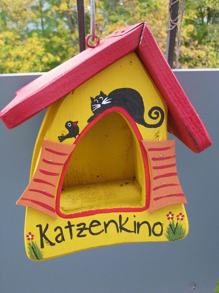 Vogelhaus, Nest, Haus, Vogel, Bauen, Basteln, Bunt