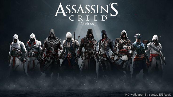 Assassin's Creed HD wallpaper 2 by teaD by santap555 on DeviantArt