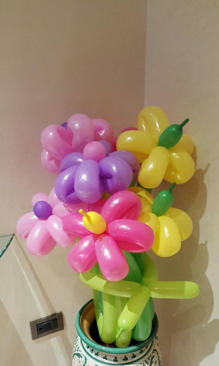 Mazzo di fiori con palloncini 19 best