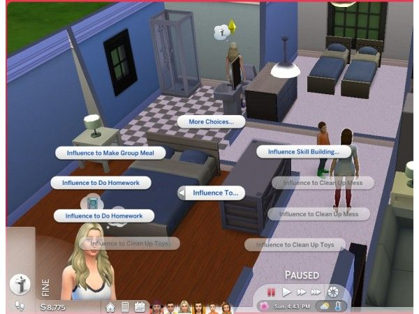 Parenting Interactions Updated And Unlocked By Vmars Sims 4 Sims Parenting