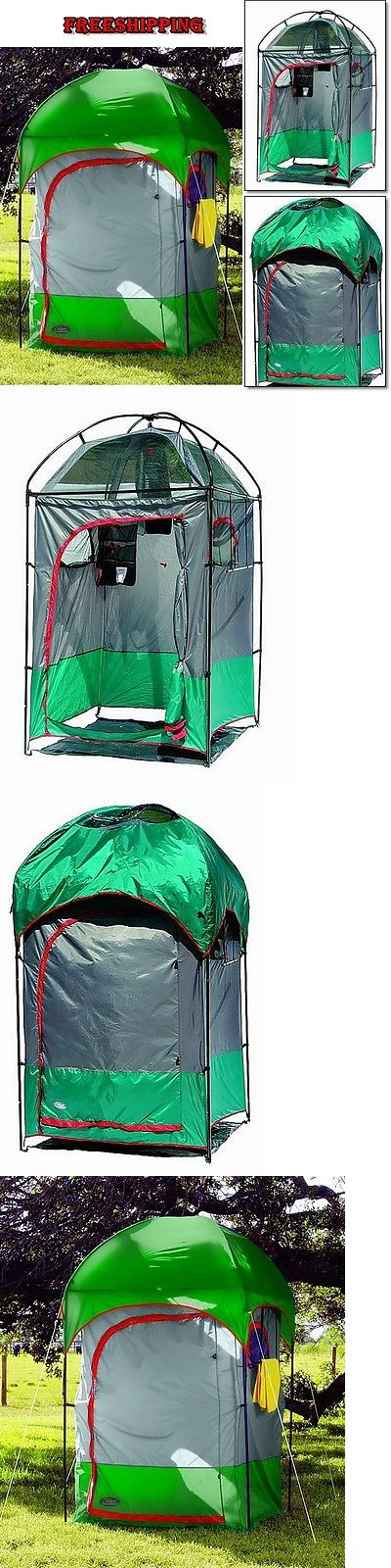 Portable Showers and Accessories 181396: Portable Shower Tent Large Room Toilet Privacy Zippered Outdoor Camping Shelter BUY IT NOW ONLY: $153.97