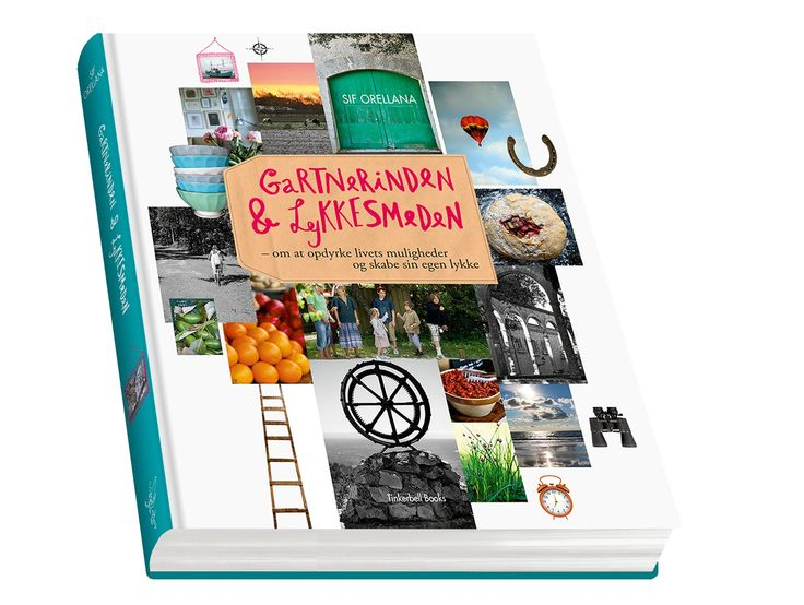 My book 'Gartnerinden & Lykkesmeden' (Printed in Danish).  A book about all important areas of the life of modern women - about food, health, exercise, self-development, design, partnership, parenthood, sleep, healthy habits, time management, dreams and much more