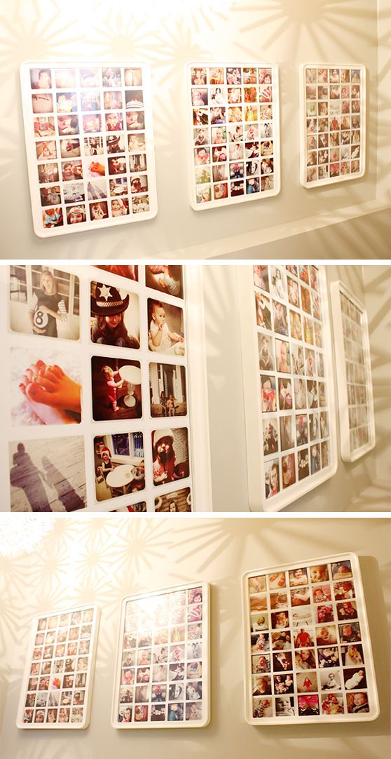 Instagram photoboards.. These will grace my walls soon