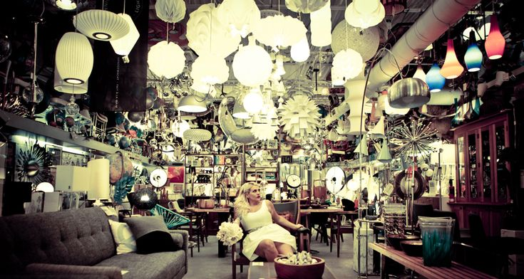 Finding a lighting store for your wedding photos. Such an original idea!