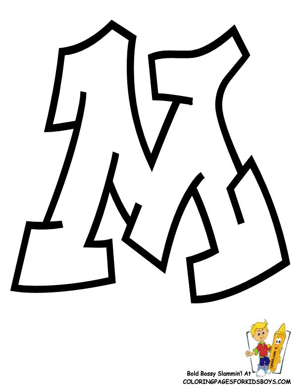 graffiti coloring pages leo - photo#23