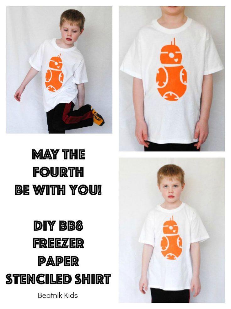 BB8 Stenciled Shirt