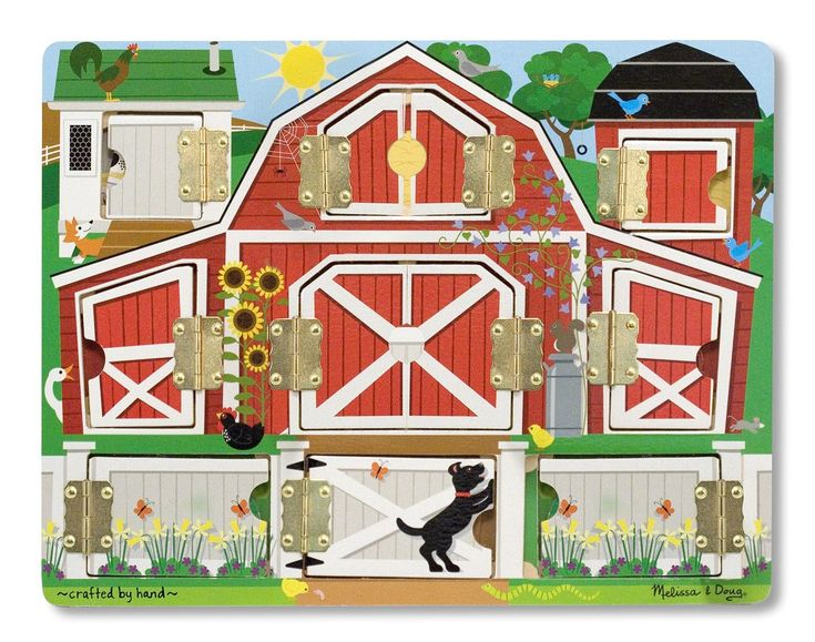 Melissa & Doug Magnetic Farm Hide & Seek: Amazon.co.uk: Toys & Games
