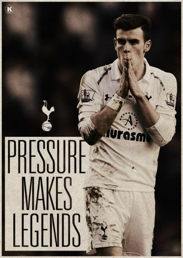 Presure make legends like bale Evry player in THE world has to deal with iT