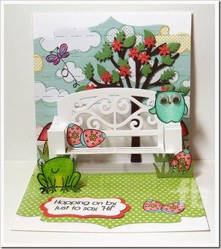 24 best images about pop up cards on pinterest crafts for Garden designs by elizabeth