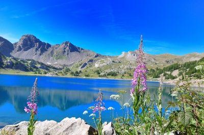 Jezera parku Mercantour