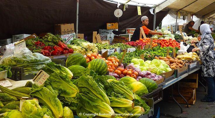 Haymarket - Boston's historic outdoor market