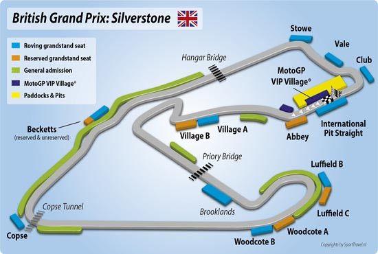 Karakteristik Sirkuit Silverstone Inggris - ProSiteNews
