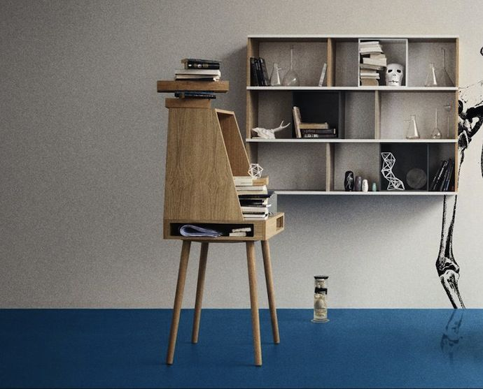 Stylish Vilfred Desk Combining Classic Design And Modern Lines   DigsDigs