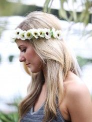 Altar'd State Gardenia Floral Crown
