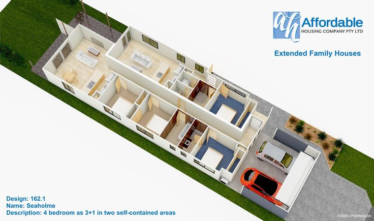 Floorplan,   the turnkey package includes  2 split system air conditioners and two dishwashers