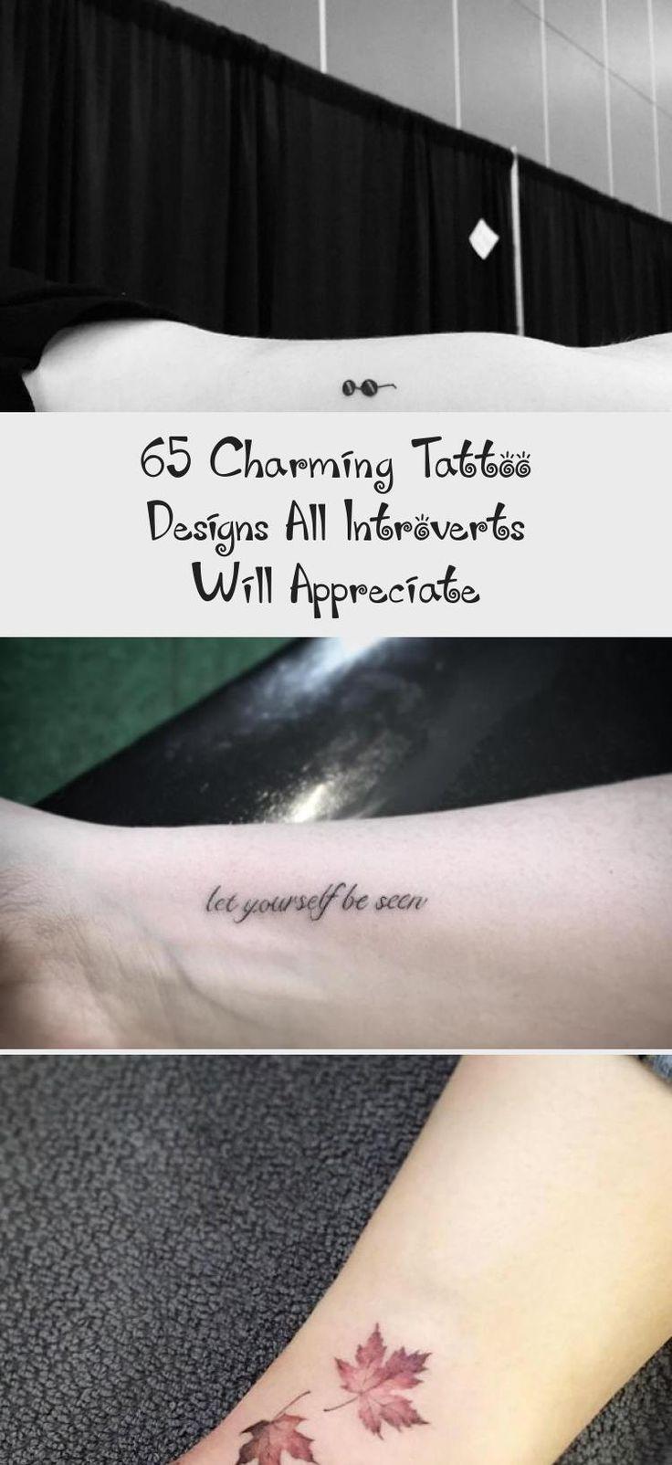 65 motifs de tatouage de charme que tous les introvertis apprécieront   – art