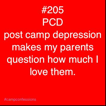 Aw. I remember those days. #campconfessions